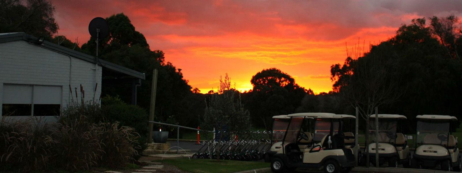 sunrise at MRGC